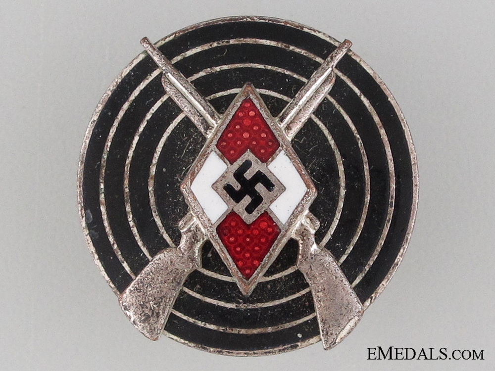 HJ Shooting Badge