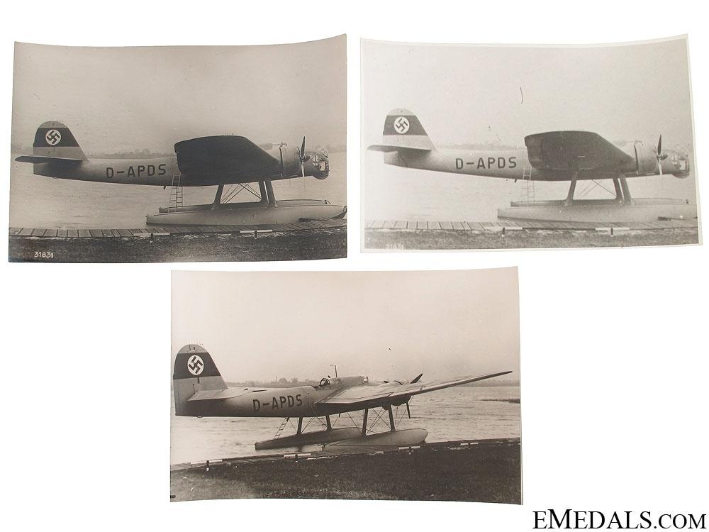 Three He 115 V-2 Seaplane Photographs