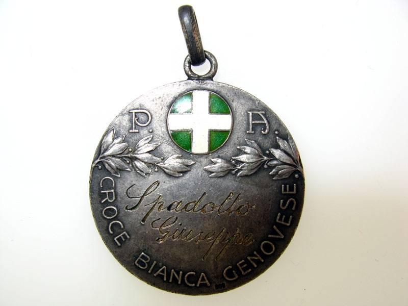 "Silver Medal ""Croce Bianca"""
