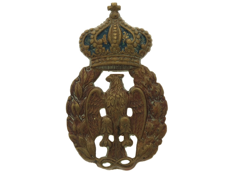 WWII Air Force (Regia Aeronautica) Cap Badge