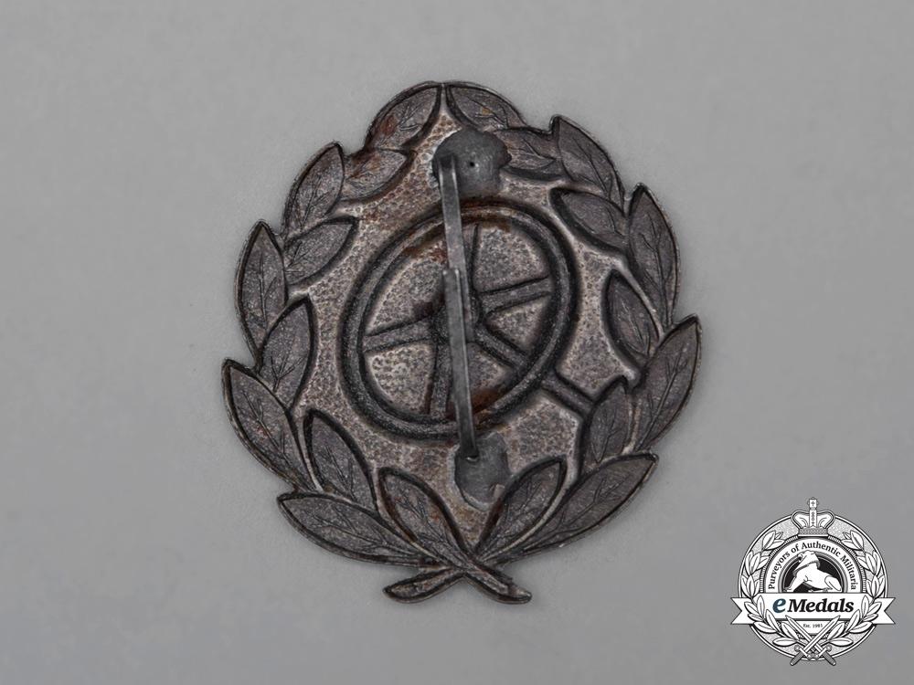 A Second War German Silver Grade Driver's Proficiency Badge
