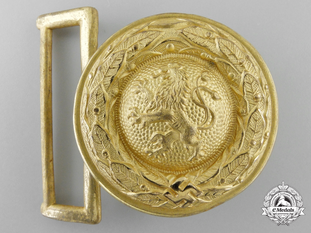 A Bavarian State Forestry Official's Belt & Buckle