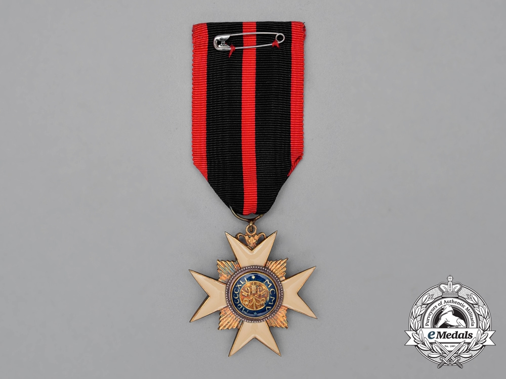An Order of St. Sylvester; Knight's Breast Badge