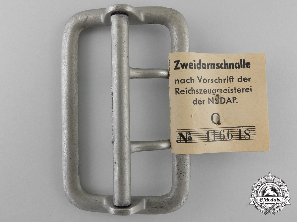 An Army Open Claw Belt Buckle by Friedrich C. Werthmann