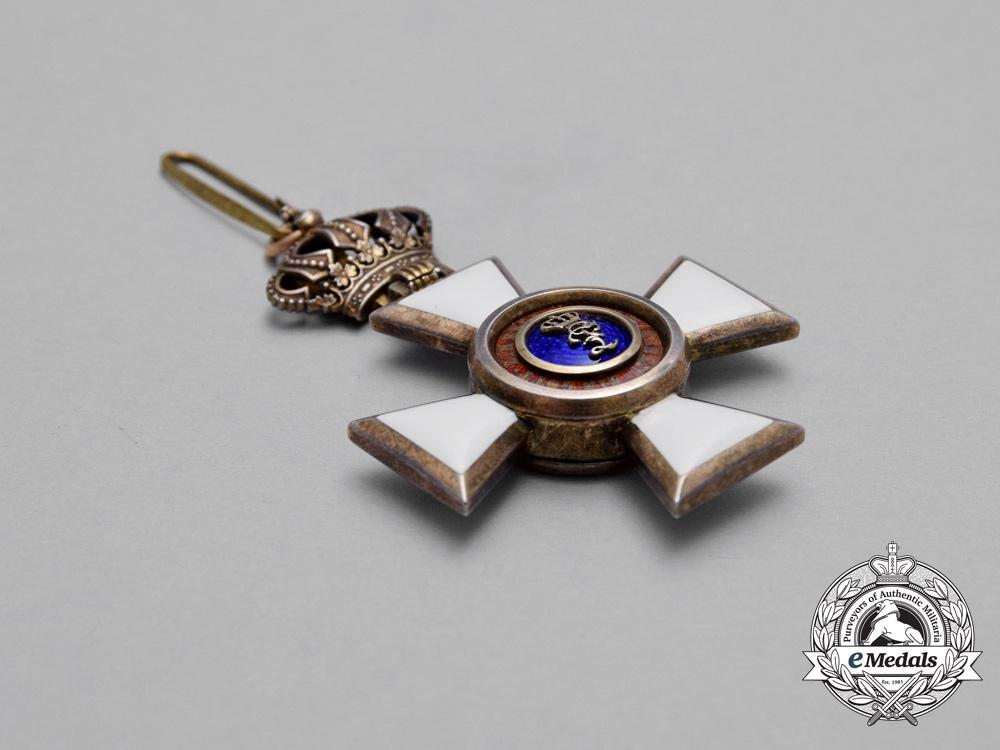 An Oldenburg House & Merit Order of Duke Peter Frederick Louis, Knight's Cross