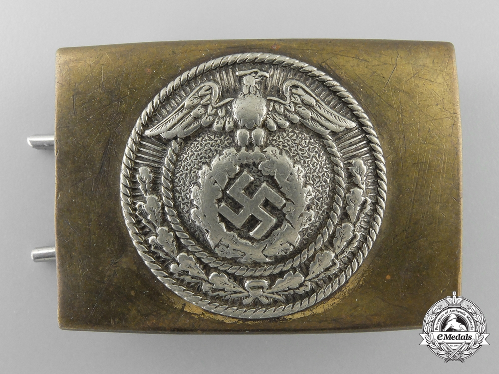 An NSDAP Youth Belt Buckle; Published Example
