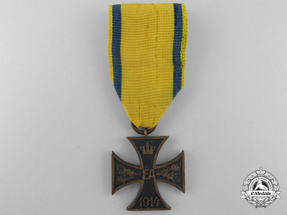 A Brunswick War Merit Cross 1914; 2nd Class for Non-Combatants
