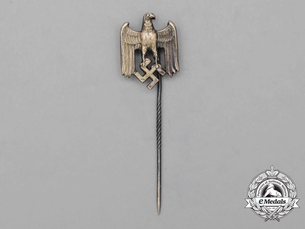 A Second War German Wehrmacht Heer (Army) Off-Duty Lapel Stick Pin