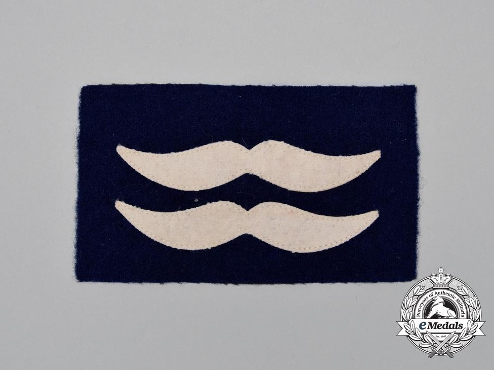 A Mint and Unissued Luftwaffe Unterfeldwebel Sleeve Rank Patch