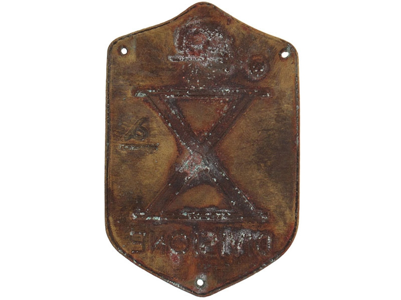 10th Division Badge (X Divisione)