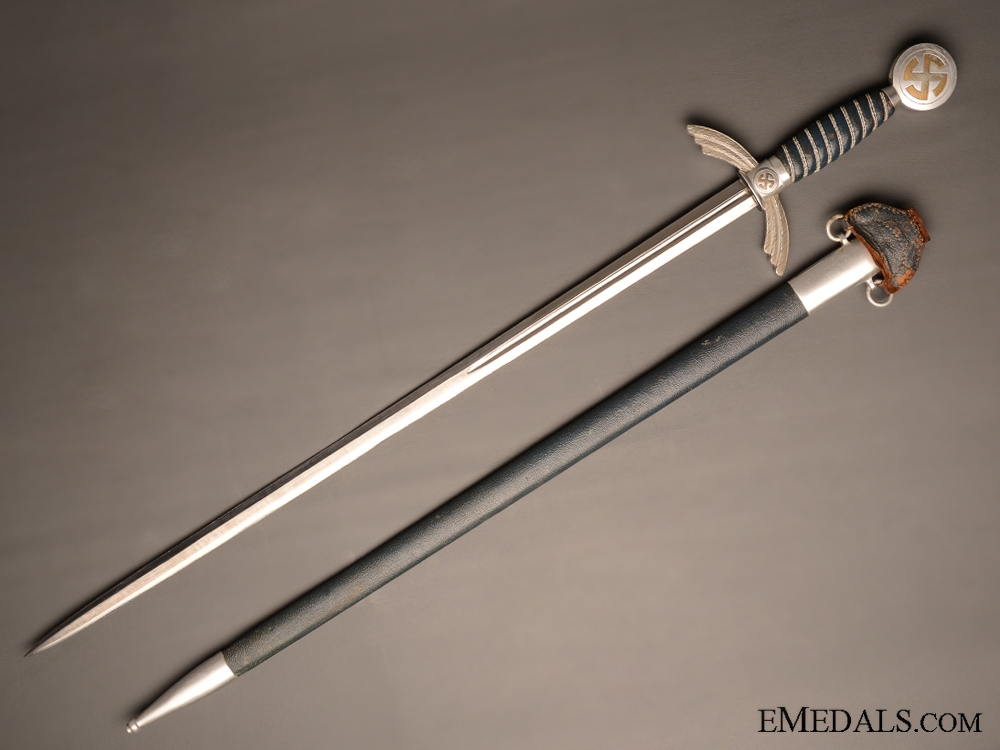 I./64 Regiment Aluminum Luftwaffe Sword by SMF