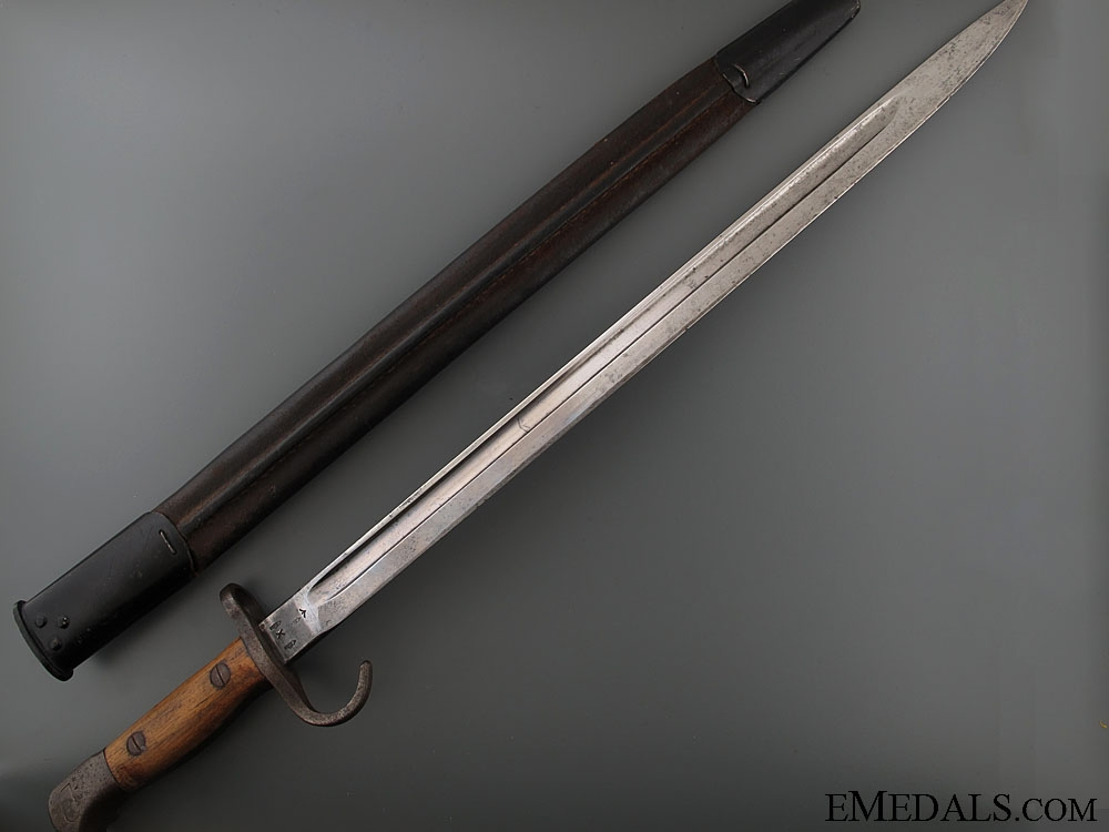 A Rare WWI Canadian Sanderson Quillon Bayonet