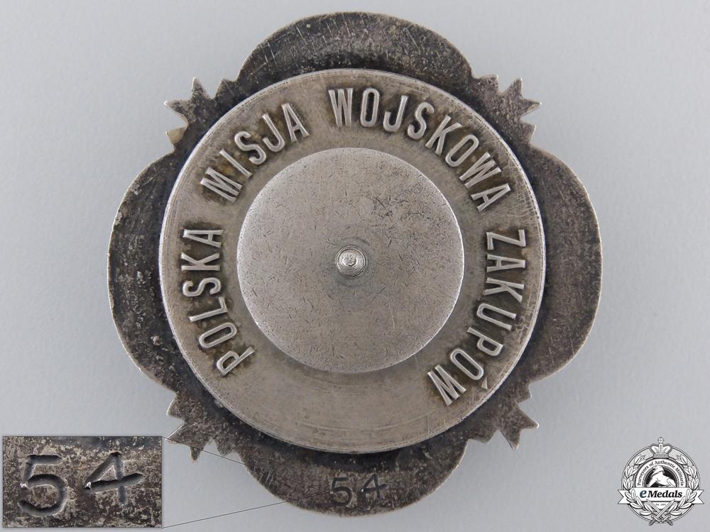 A 1920 Polish Plebiscite Zone Forces Badge