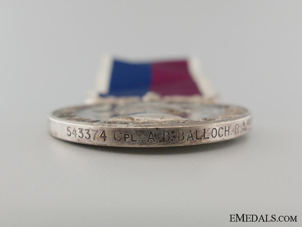 A Royal Air Force Good Conduct & Long Service Medal