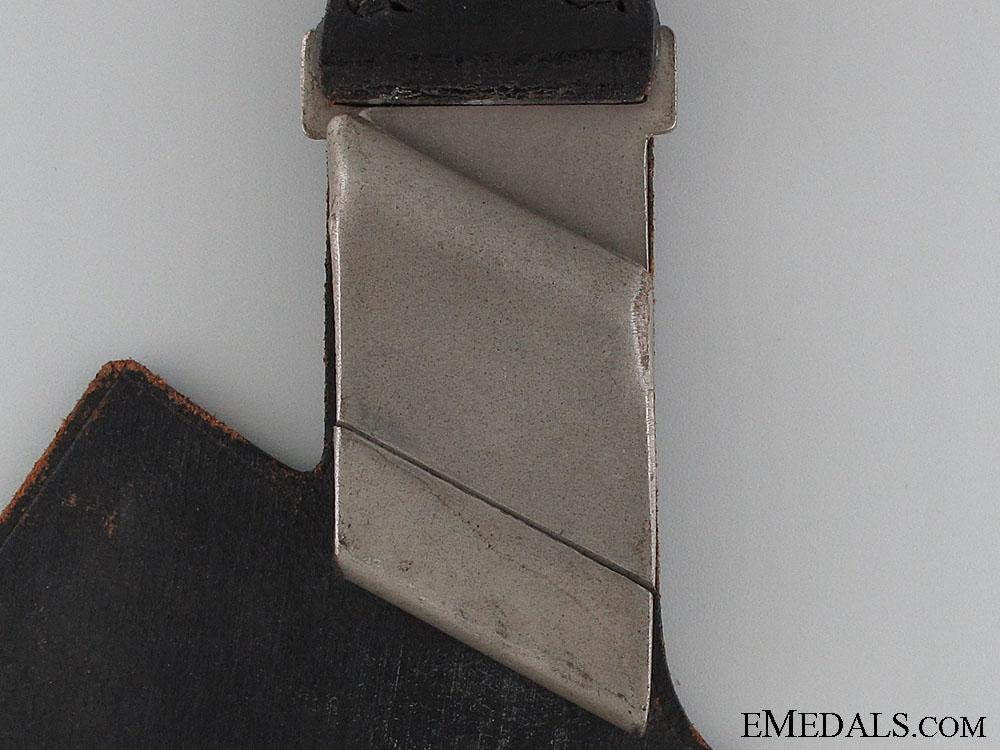 RAD Enlisted Hewer Leather Dagger Hanger 1938