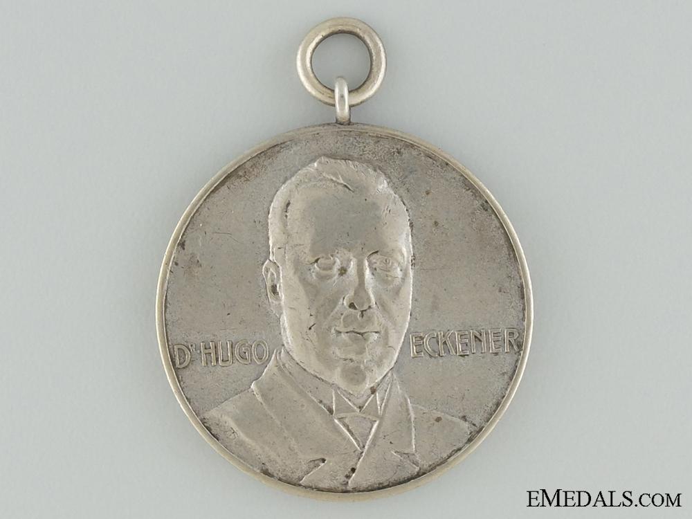 1924 Dr.Hugo Eckener LZ 126 Zeppelin American Tour Medal