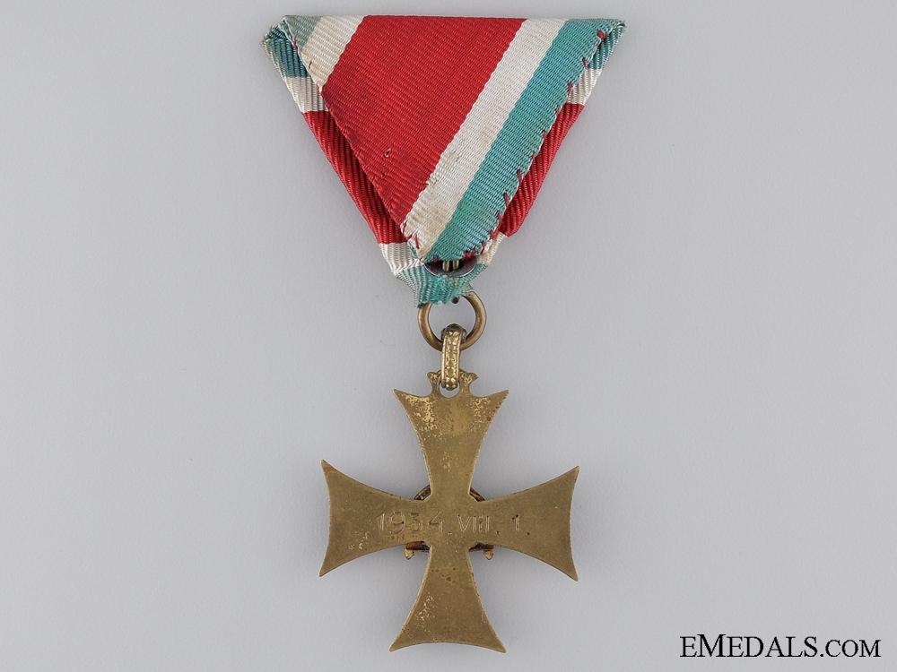 1934 Hungarian Long Service Cross