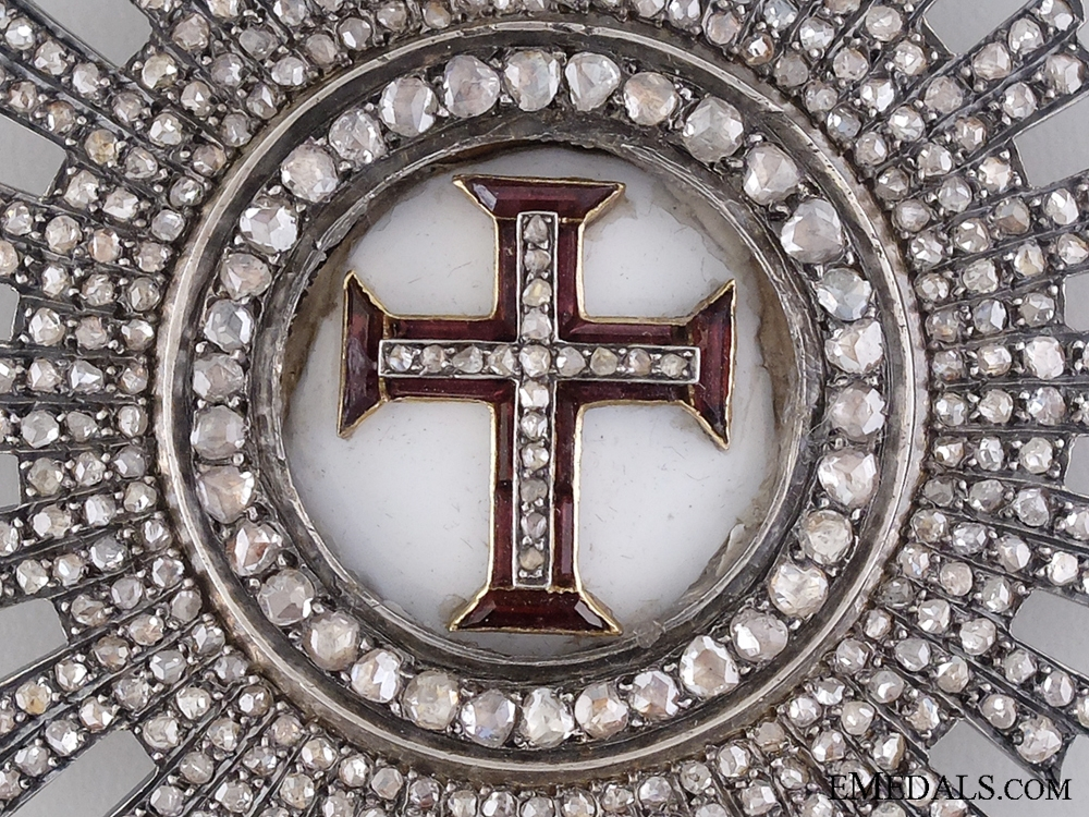 A Superb Portuguese Order of Christ with Diamonds