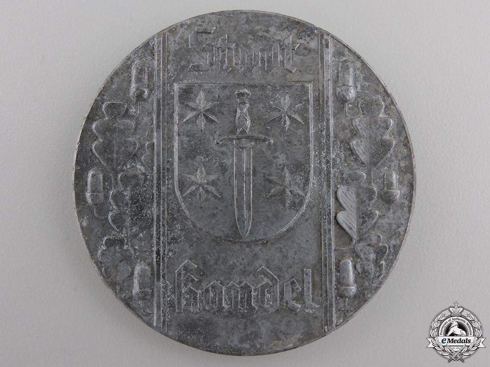 A NSRL Baden Wurttemberg Southwest Competition Sport Medal