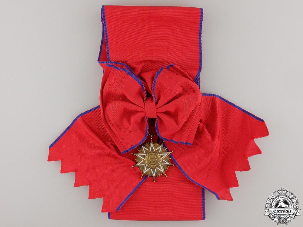 A Chilean Order of Bernardo O'Higgins; Grand Cross
