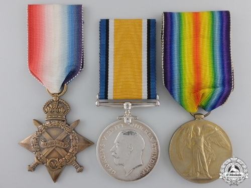 A First War Medal Group to the Canadian Engineers