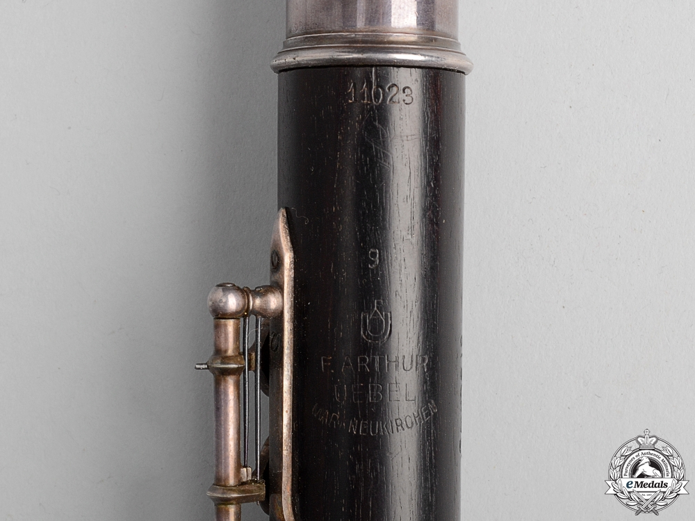 A Brunswick SS Flute by F.Arthur Uebel with Case