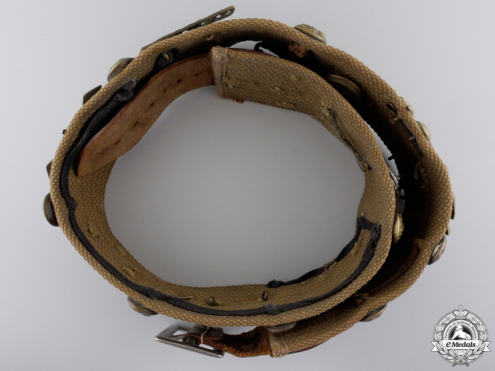 A First War British and Commonwealth Badge Belt