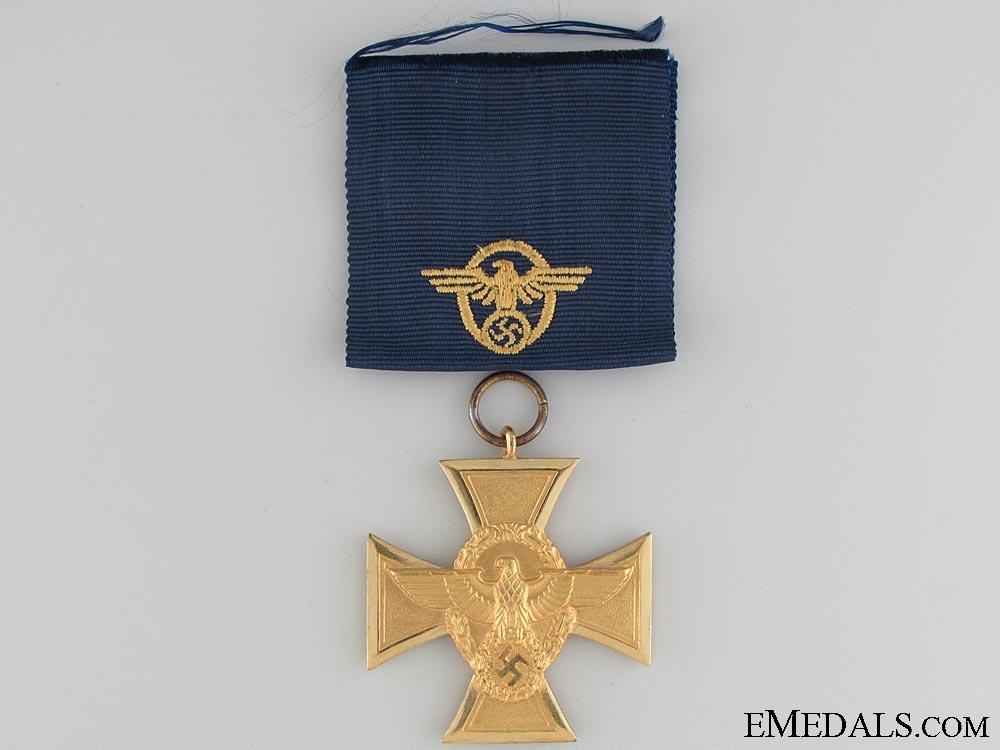 A Mint & Cased Police Long Service Award