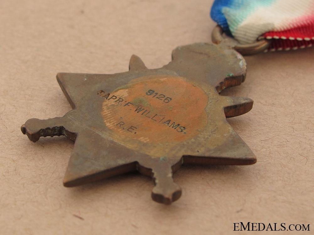 WWI 1914 Star - Royal Engineers