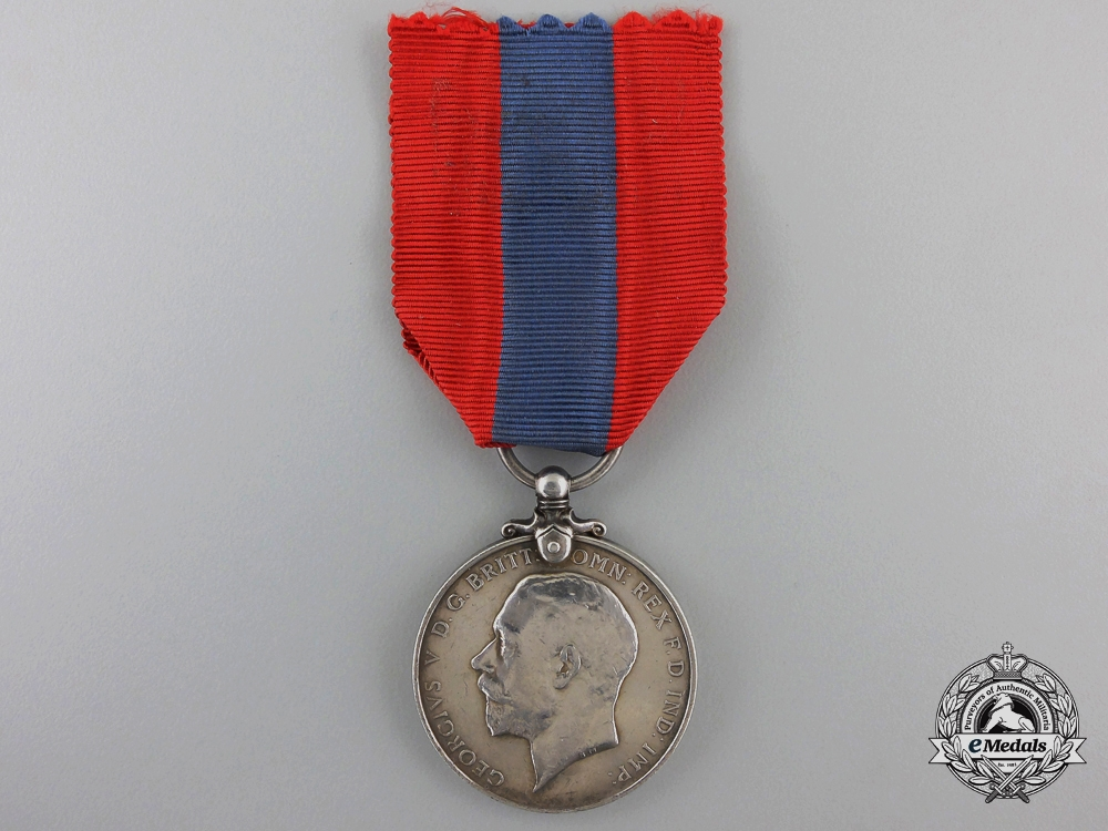 An Imperial Service Medal to William Carter of the Post Office