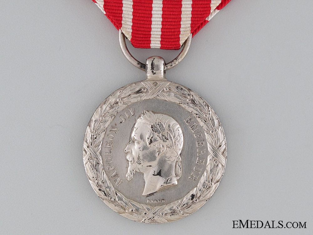 French Italy Campaign Medal 1859