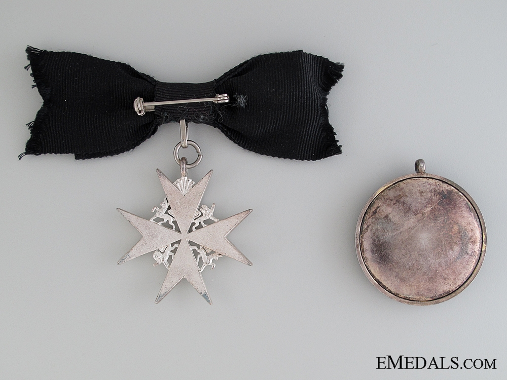 Order of St. John Pair