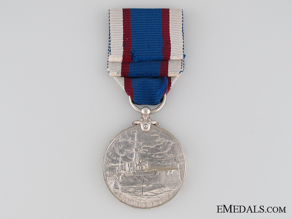 Royal Fleet Reserve Long Service and Good Conduct Medal, Lance Corporal A.J. Hard, Royal Fleet Reserve