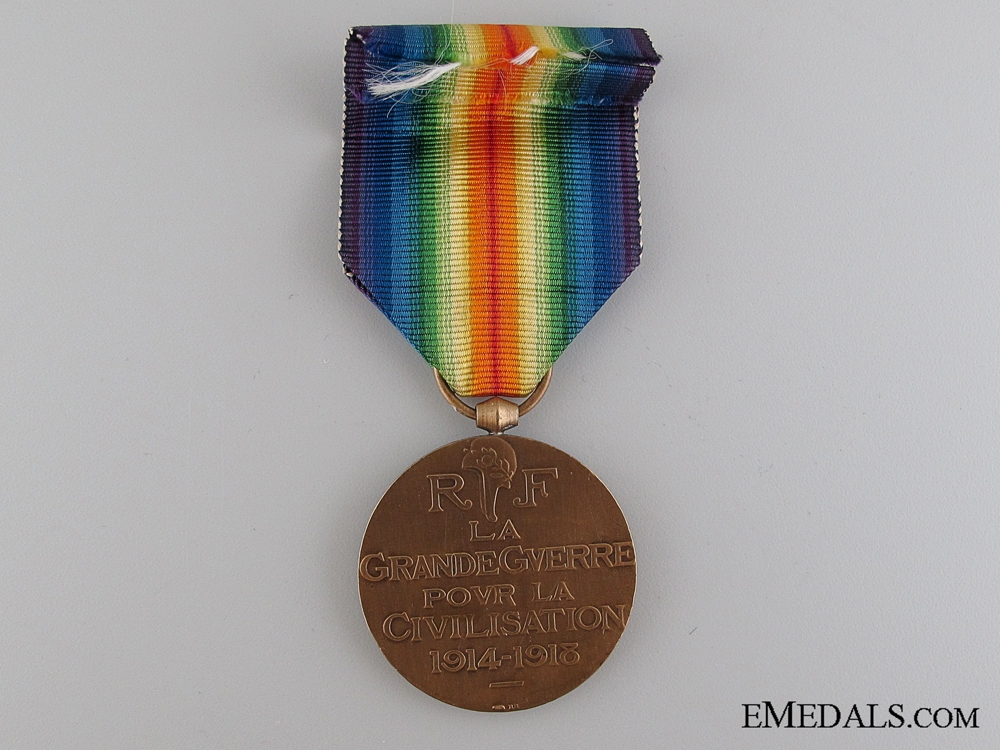 WWI French Victory Medal, Type I