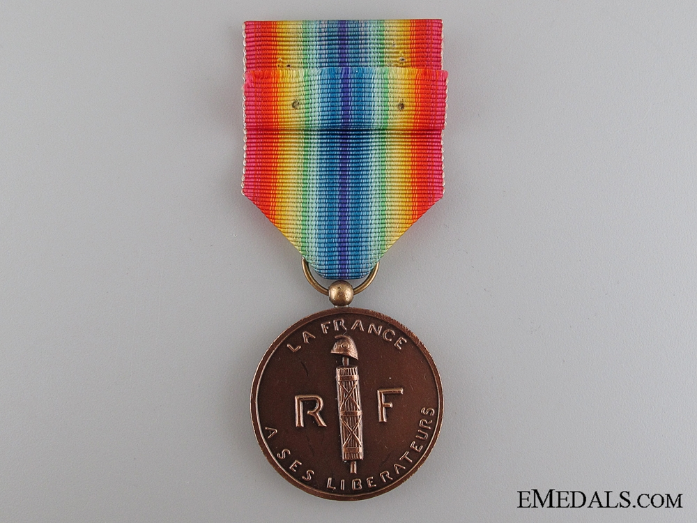 French Medal of Liberated France