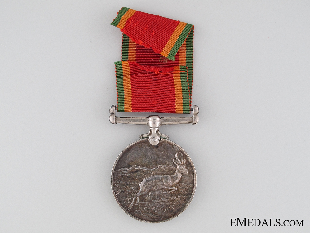 African Service Medal to E.L. Phillips