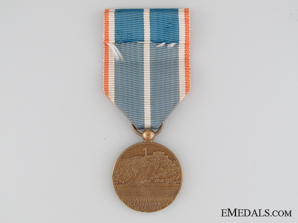 French Veterans of the Rhineland and the Ruhr Medal