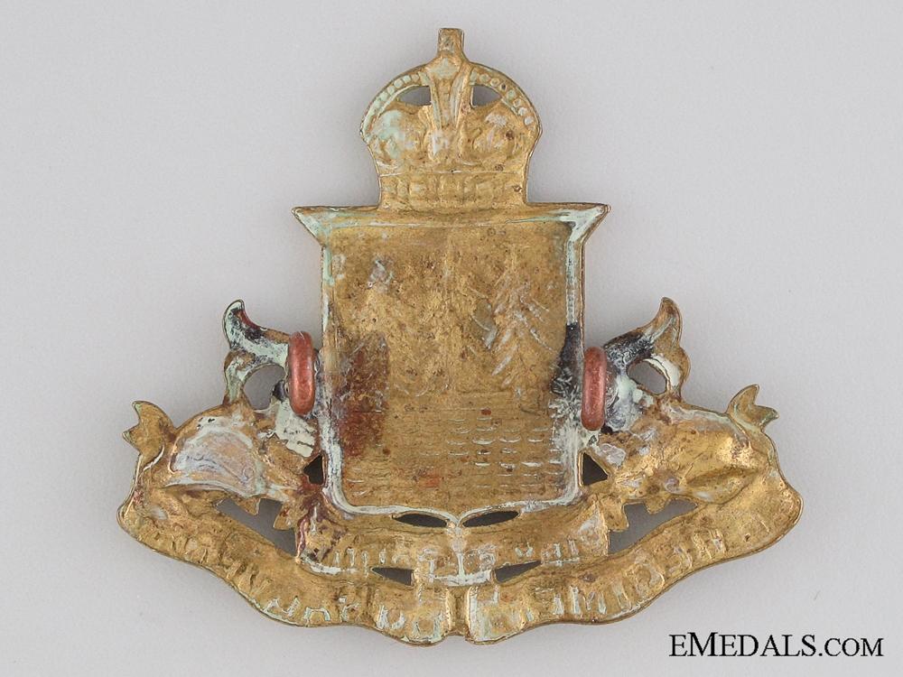 WWII Le Régiment du Saguenay Cap Badge
