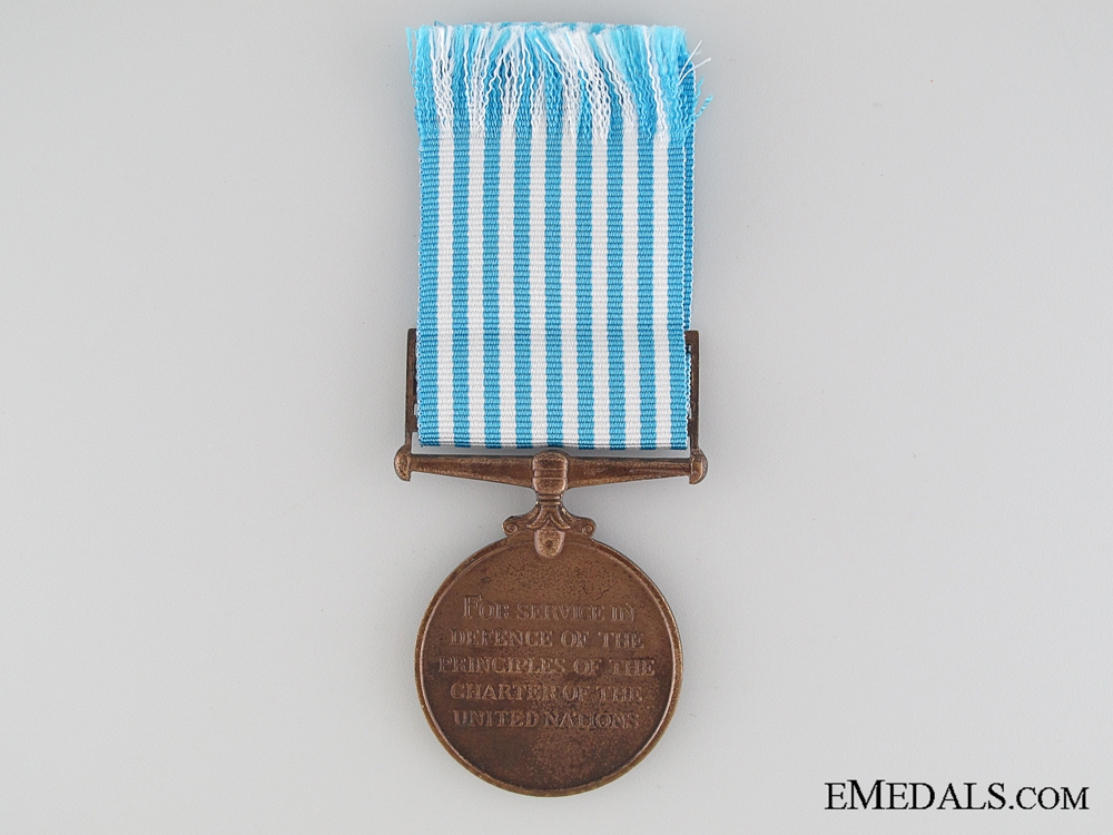 A Named UN Korea Medal