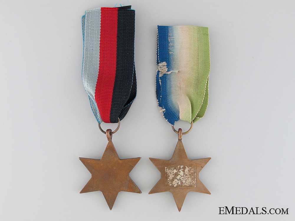 WWII British Medal Pair