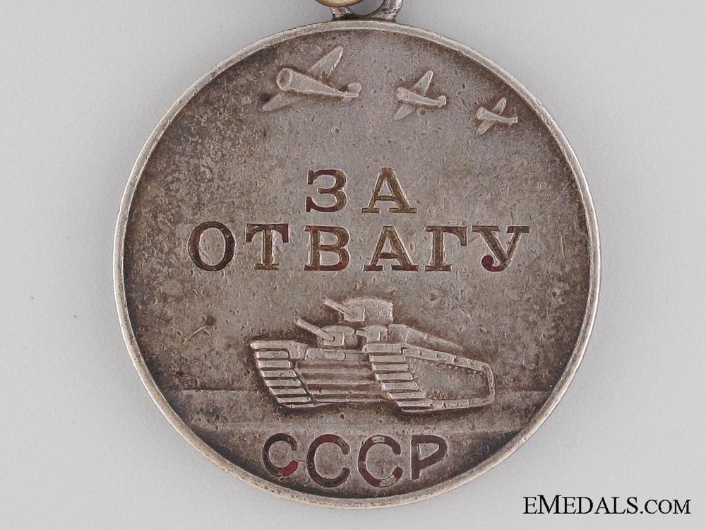 WWII Soviet Medal for Bravery