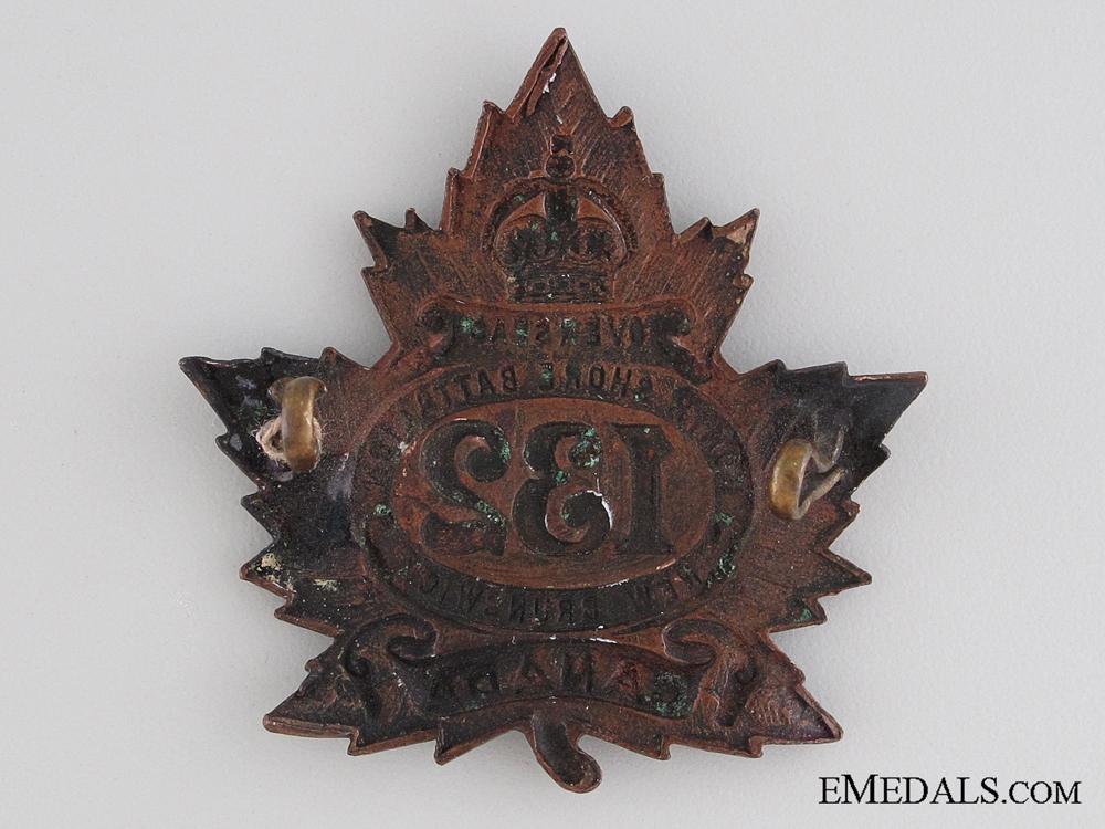 WWI 132nd Infantry Battalion Cap Badge CEF