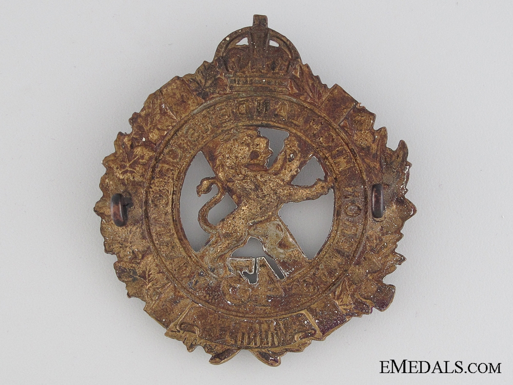 WWI 43rd Infantry Battalion Cap Badge CEF
