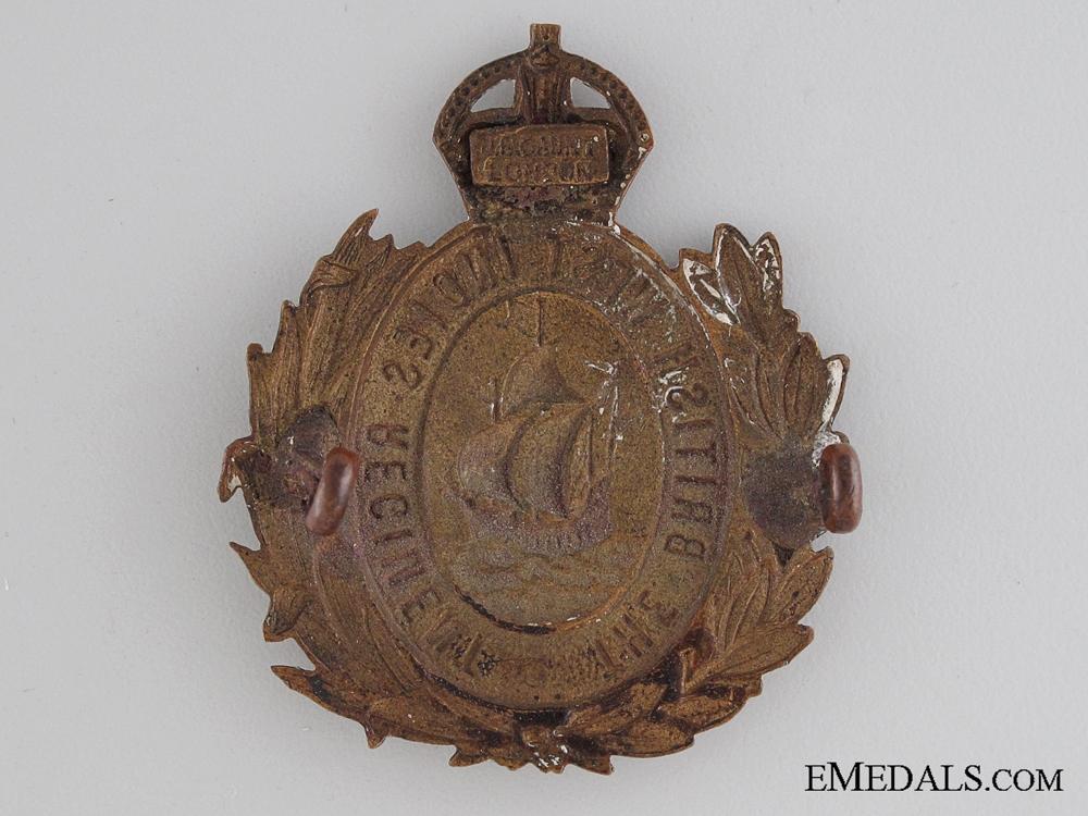WWI British West Indies Regiment Cap Badge