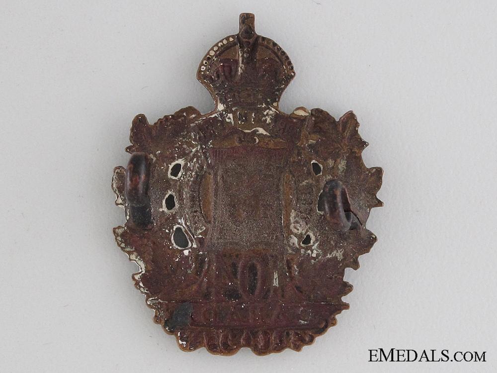 WWI 104th Infantry Battalion Collar Tab CEF