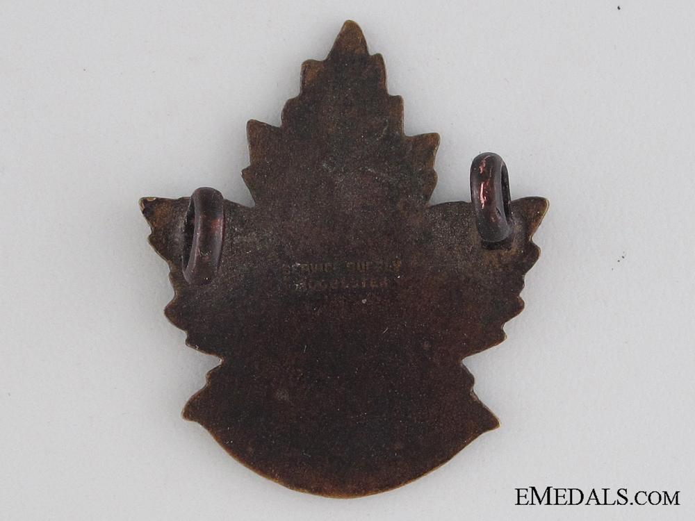 WWI 46th Infantry Battalion Collar Tab CEF
