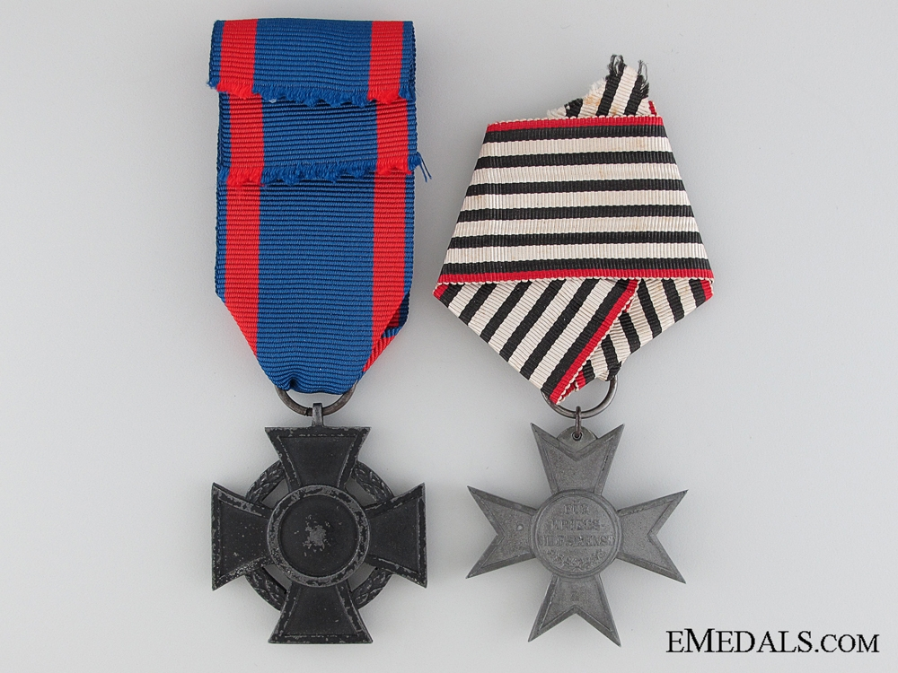 Two First War German Awards