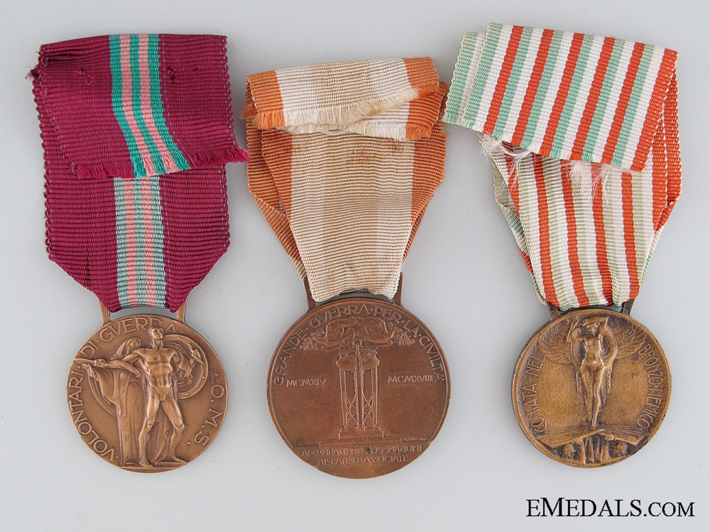Three Italian Medals