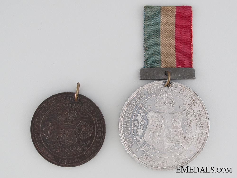 Two Unofficial British Jubilee Medals