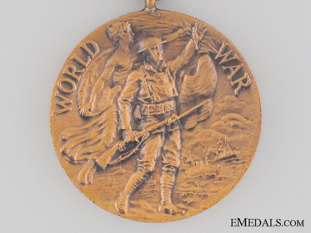 WWI New York State War Service Medal 1917-1919